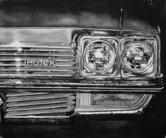 "Buick 58""W x 36""H"