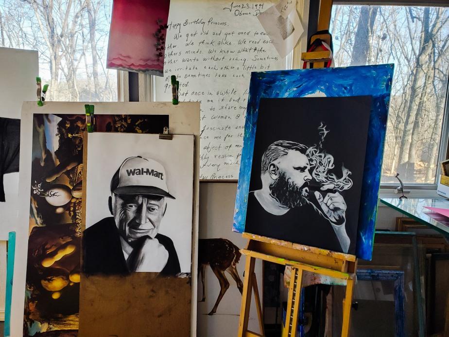 Studio Drawings /W.I.P